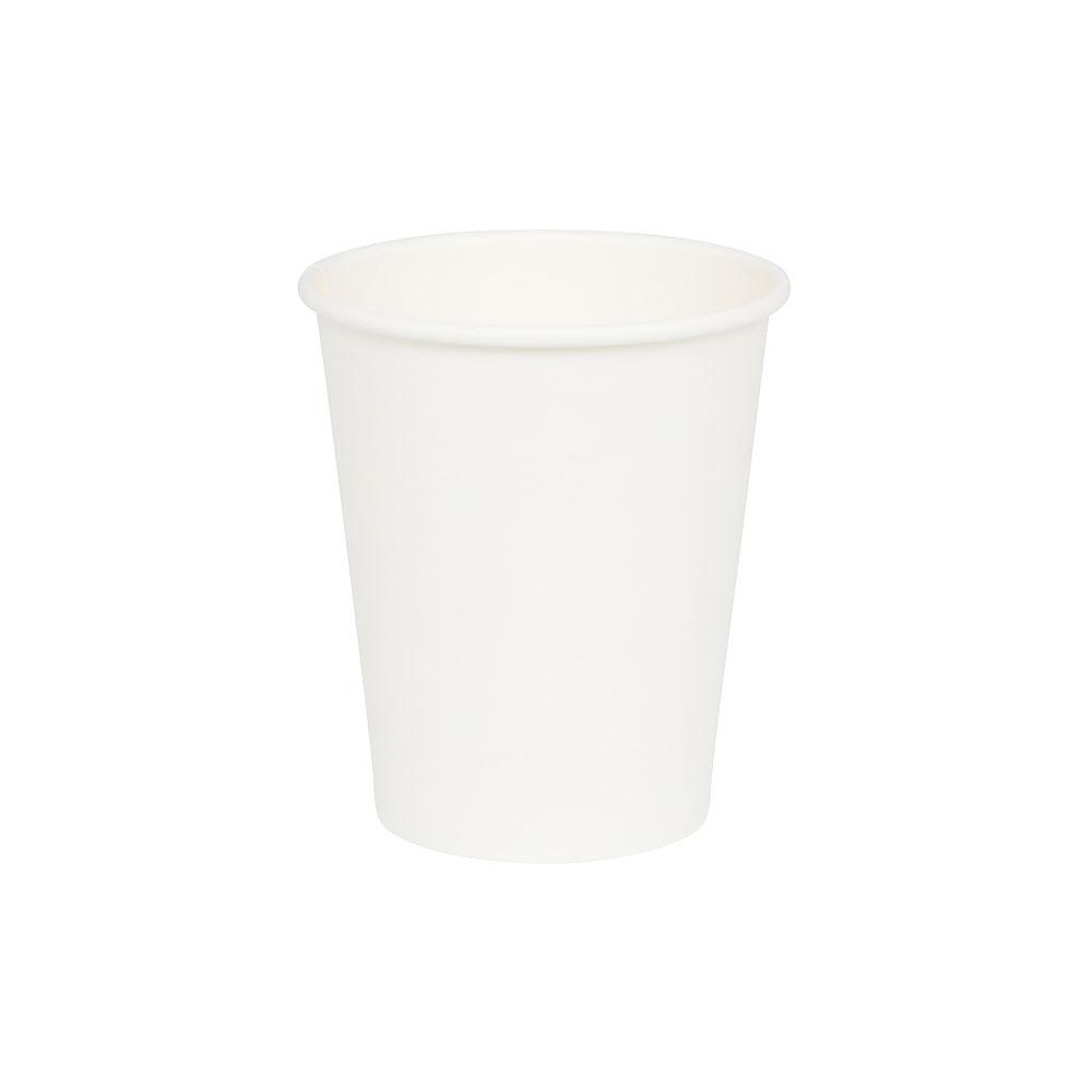 Pappbecher 200 ml / 8 oz, Ø 80 mm, weiß