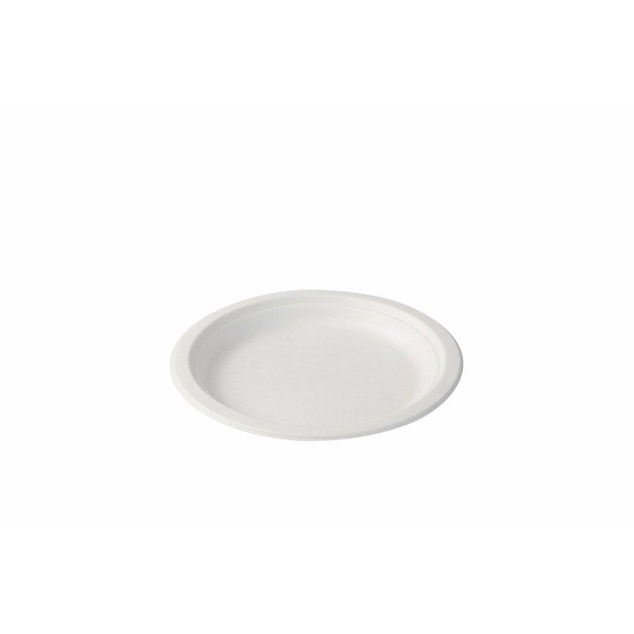 Zuckerrohr-Teller Ø 18 cm, rund