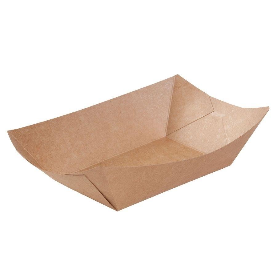 Karton-Snack-Schalen 800 ml, braun