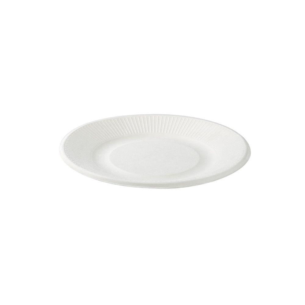Zuckerrohr-Teller Ø 21 cm, light-line, rund