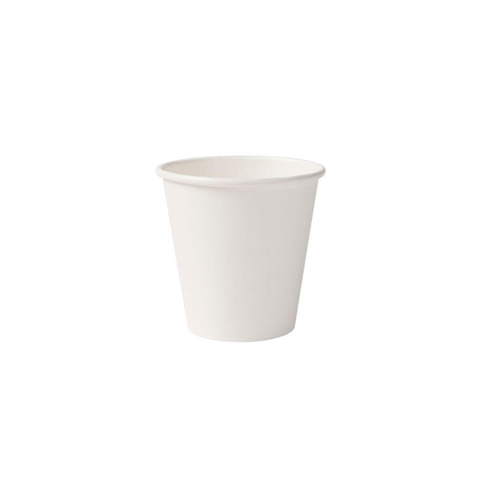 Pappbecher 150 ml / 6 oz, Ø 80 mm, weiß